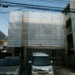 外壁補修工事中ですが、通常通り営業中。