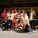 NKB ウェルター級チャンピオン 竹村哲 引退セレモニー