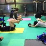 練習後の筋トレとストレッチ