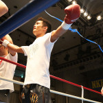 NKBフェザー級 鎌田政興(ケーアクティブ) VS サイクロン狂介(大塚道場)
