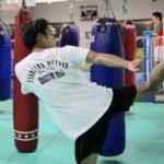 練習の写真