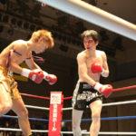 NKBフェザー級 再戦 藤田洋道(ケーアクティブ) VS 岩田行央(大塚道場)
