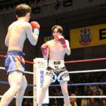 試合結果:NKBフェザー級 山本太一(ケーアクティブ) VS 松下裕太(マッハ道場)