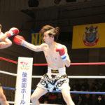 試合結果:NKBフェザー級 山本太一(ケーアクティブ) VS 平塚 一郎(トーエルジム)