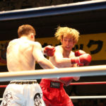 試合結果:NKBフェザー級 山本太一(ケーアクティブ) VS 藤平 泰地(花澤ジム)