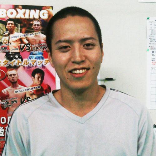 キックボクシングジム練習生