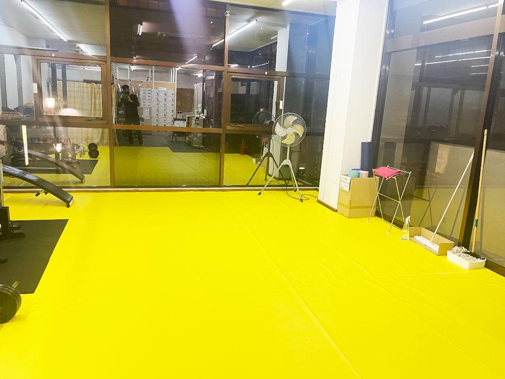 キックボクシングジム トレーニングスペース